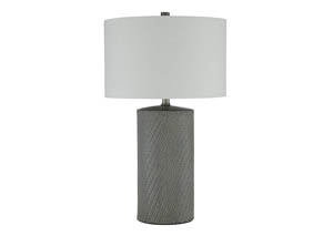 Shelleny Gray/Green Ceramic Table Lamp