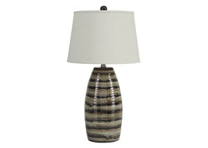 Darlon Brown Ceramic Table Lamp