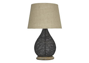 Aimon Bronze Finish Metal Table Lamp