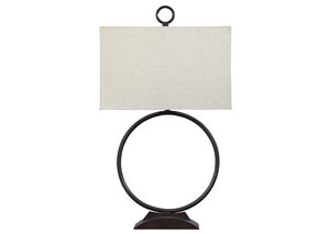 Fayth Bronze Finish Metal Table Lamp,Signature Design by Ashley