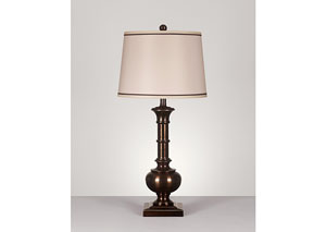 Bronze Oakleigh Metal Table Lamp (Set of 2)