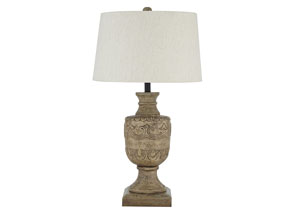 Shobana Natural Table Lamp,Signature Design by Ashley