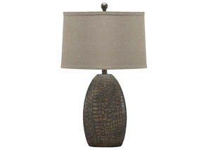 Melvin Tan Poly Table Lamp (Set of 2)