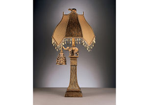 Bronze Dillian Poly Table Lamp (Set of 2)