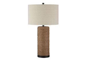 Talbbart Brown Rope Table Lamp,Signature Design by Ashley