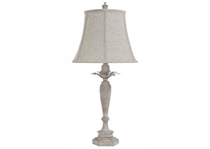 Ethelsville Antique White Poly Table Lamp (Set of 2)