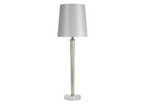 Ardara Mercury Glass Glass Table Lamp