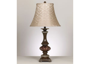 Rosemary Bronze & Antique Silver Table Lamp (Set of 2)