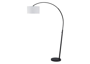 Shawny Black Metal Arc Lamp