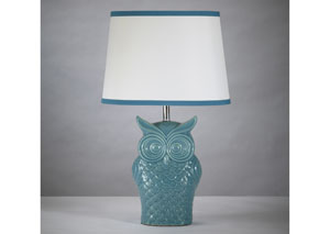 Sarva Ceramic Table Lamp,Signature Design By Ashley