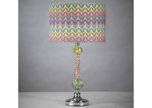 Starla Acrylic Table Lamp