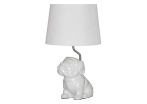 Avel White Ceramic Table Lamp