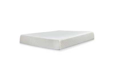 10 Inch Chime Memory Foam White Queen Mattress