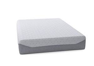 Loft and Madison 13 Firm White California King Mattress