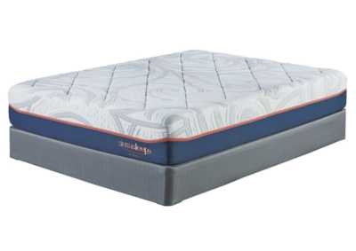 12 Inch MyGel White King Mattress w/Foundation