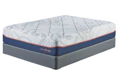 14 Inch MyGel White California King Mattress w/Foundation