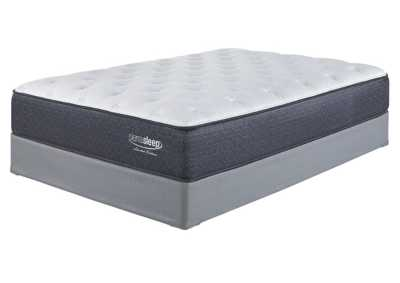 Limited Edition Plush White Full Mattress w/Foundation,Sierra Sleep