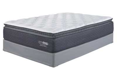 Limited Edition Pillowtop White King Mattress w/Foundation