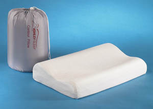 Travel Contour Memory Foam Pillow,Sierra Sleep