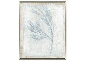 Barney Blue/Beige Wall Art