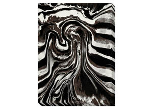 Ohanzee Black/Brown/Cream Wall Art,Signature Design by Ashley