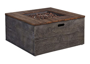 Hatchlands Multi Low Square Fire Pit Table