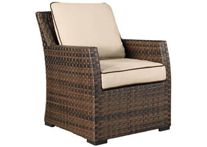 Salceda Wicker Lounge Chair w/Cushion,Outdoor By Ashley
