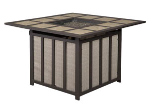 Wandon Square Fire Pit Coffee Table