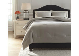 Aracely Taupe King Comforter Set,Signature Design by Ashley