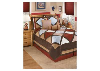 Academy Multi Full Top of Bed Set