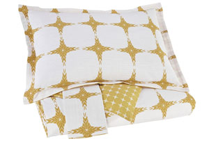 Cyrun Yellow Queen Duvet Cover Set