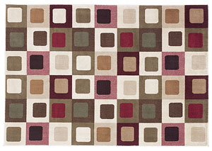 Sloane Red Medium Area Rug