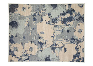 Lizette Blue Medium Rug,Signature Design by Ashley