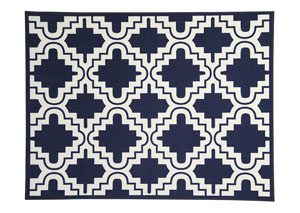 Jacory Navy Medium Rug,Signature Design by Ashley