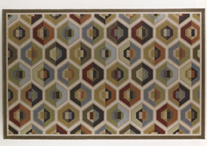 Hannin Multi Medium Rug,Signature Design by Ashley