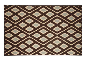 Abhay Blue/Beige Medium Rug