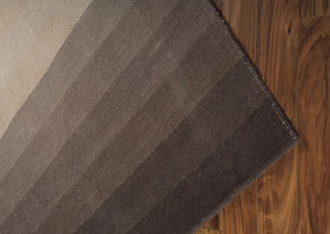 Talmage Black/Tan Large Rug