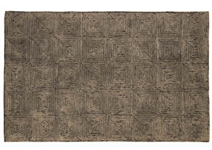 Kanan Taupe Black Large Rug