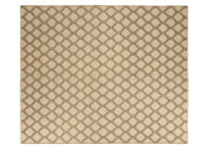 Baegan Navy/Natural Large Rug