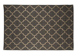 Daponte Gray Large Rug