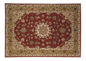 Maroney Red Medium Rug,Signature Design by Ashley