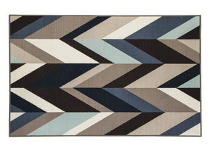 Keelia Blue/Brown/Gray Rug