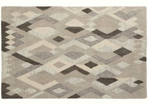 Jadon Brown/Cream Large Rug