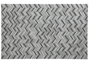 Gareth Black/Gray Large Rug