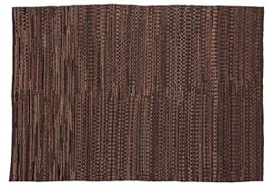 Braided Brown Large Rug