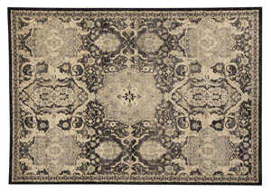 Anzhell Black Medium Rug