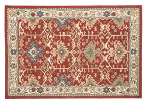 Forcher Brick Large Rug