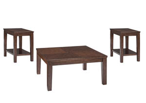 Marlinton Brown Occasional Table Set