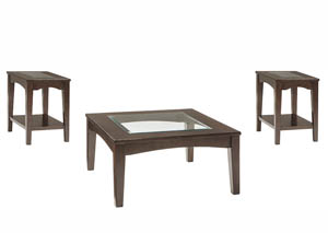 Cronnily Brown Occasional Table Set,Signature Design by Ashley