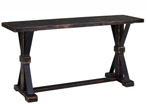 Beckendorf Black Sofa Table